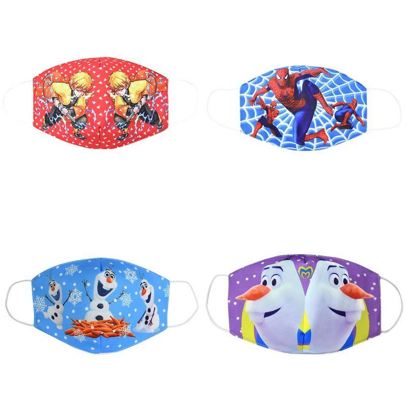 Maschera ragazzi ragazzo Ie mascherina mascherine Snorkel giovanili del fumetto prescrizione Mask Bocca panno di cotone Cubreboca Giovani BooPm jjxh