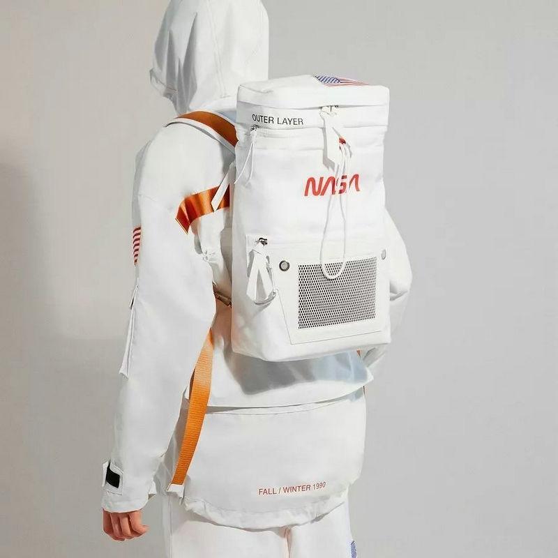 2020 neue Modemarke Reise Schulter Herren-NASA Co-Branded-Rucksack Reisetasche abnehmbarer Rucksack Tasche