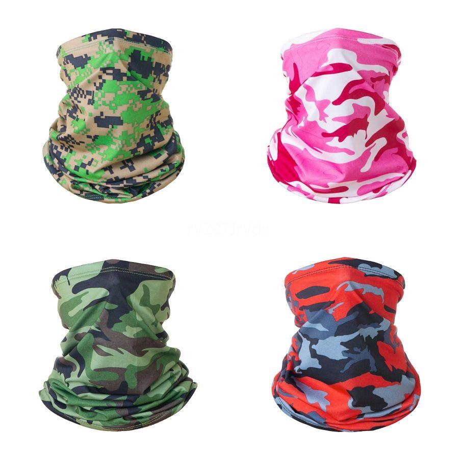 Seamless Magic Neck Scarf Face Mask Camouflage Multicam Balaclava Warmer Ski Anti-Uv Sun Shield Women Tube Bandana Hea #684#561