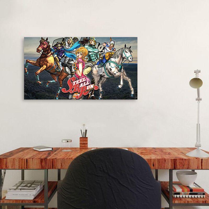 Modular Leinwandbilder Jojo S Bizarre Malerei Home Decor japanischen Cartoon Rollenbilder Poster Wohnzimmer moderne Wand Arwork