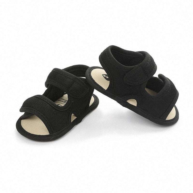 Çocuklar Mağaza Çocuklar için Yaz Bebek Kız Tok Nefes Anti Kayma Sandalet Bebek Yumuşak Soled Ayakkabı Beyaz Ayakkabı UFog # Ayakkabı