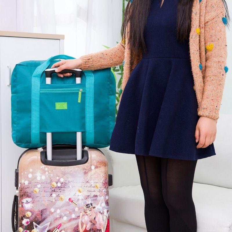 style coréen stockage portable grande capacité de stockage Voyage sac étanche bagages pratique sac de Voyage
