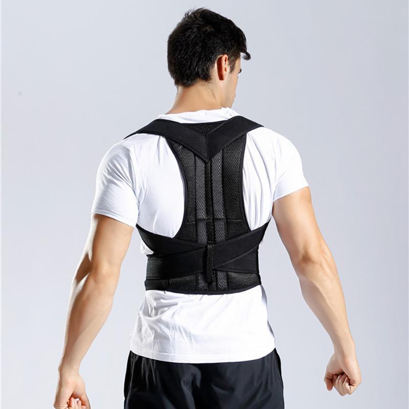 Spine Zurück Korsett Posture Korrektur Stahlbänder Babaka Körperhaltung Korrektor Männer Wirbelsäule Rücken Schulter Stützgürtel Elastische Zahnspange