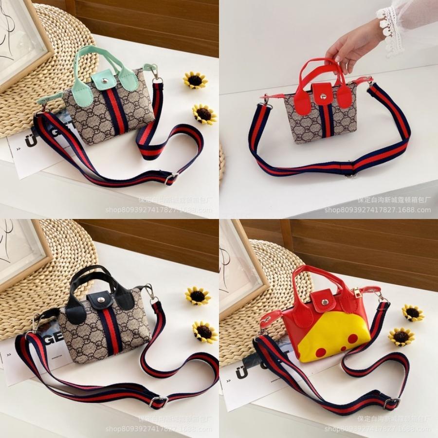 Девушка вскользь Оксфорд Малый Stuffs сумка для хранения Студентка обед сумки сумки Магазины Красочные Stripes Дети Дети Mini Tote Ba # 507