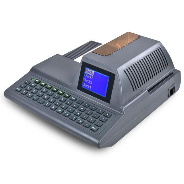 ذكي تلقائي كامل لوحة المفاتيح الشيكات الطباعة الاختيار طابعة الكاتب تحقق آلة الكتابة