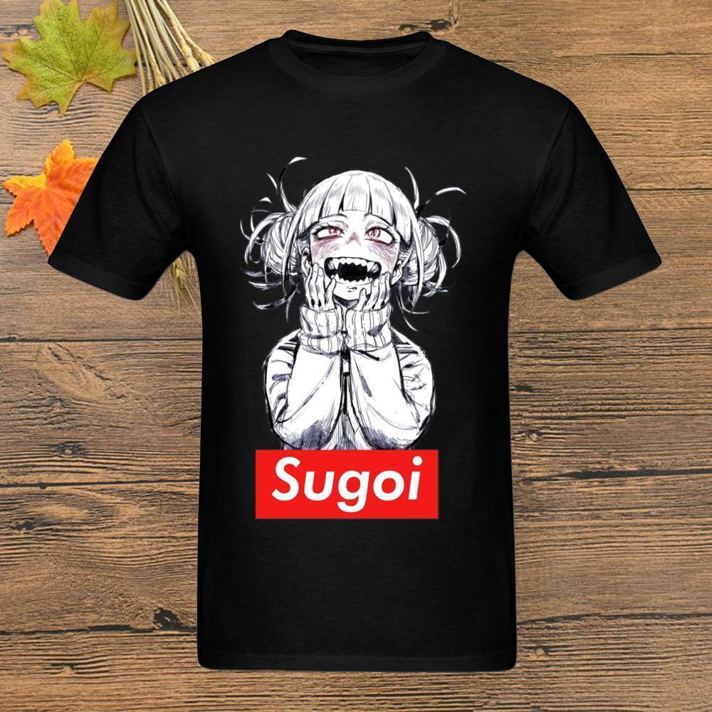 2019 Männer T-Shirt Anime-Hip Hop-T-Shirt aus Baumwolle Harajuku-Männer-T-Shirt Designer Tops Xl Japan Art-nach-Mädchen-T-Shirts Street