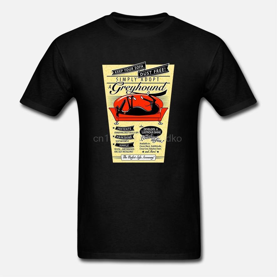 Retro Tazı lurcher Whippet Erkekler Tişörtlü Hip Hop Rashguard 4XL 5XL 6XL O-boyun Pamuk Kısa Kollu Özel Giysiler