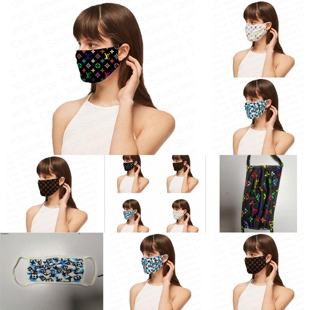 Maskeler Yıkanabilir Respiratörü Moda Yüz Kadınlar sunproof toz geçirmez Bisiklet Tredny Ağız Kapak 5BCF