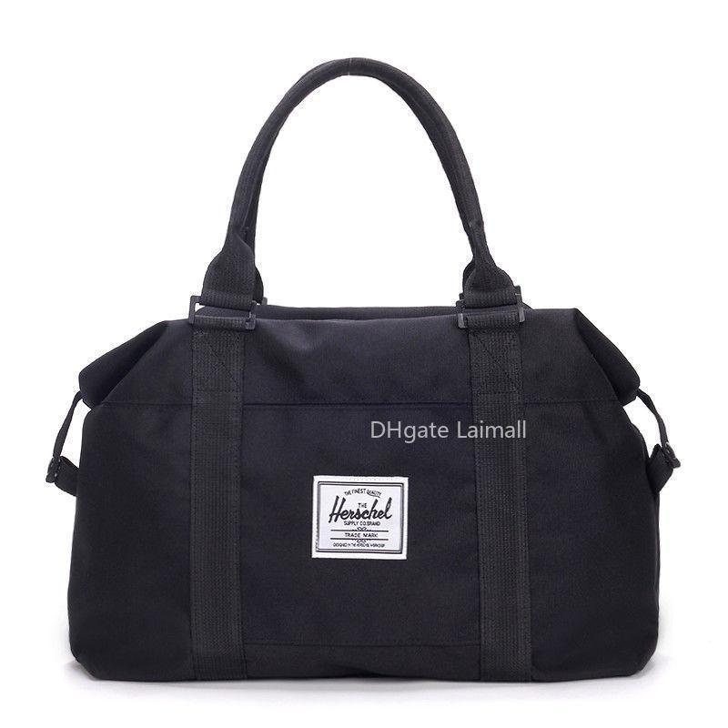 Borsa di tela di viaggio Quality grande capacità uomini bagaglio a mano viaggio Duffle borse da weekend in nylon Borse donne multifunzionali