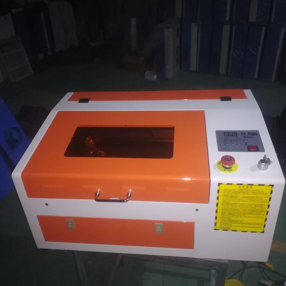 4040 50W ميني آلة القطع بالليزر، 400x400mm cnc القاطع الليزر للخشب الاكريليك