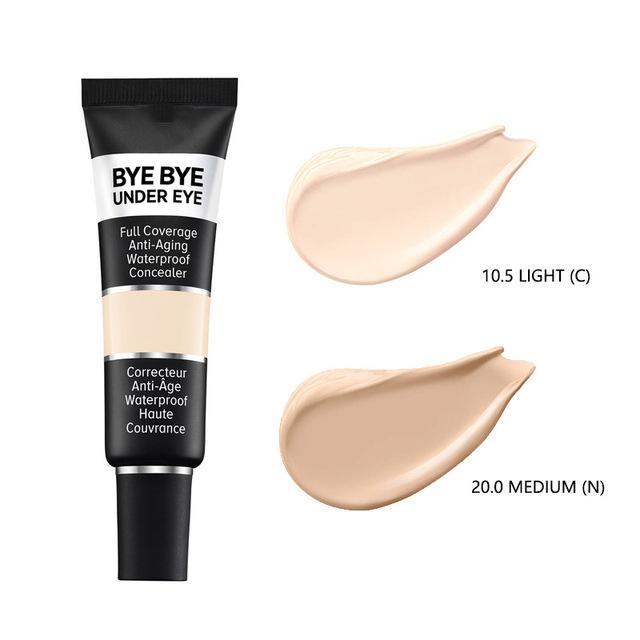 Nuova versione Fondazione Bye Bye Eye Concealer Rimuove occhiaie Illumina la pelle rimuovendo Freckle trucco degli occhi Cosmetici Crema