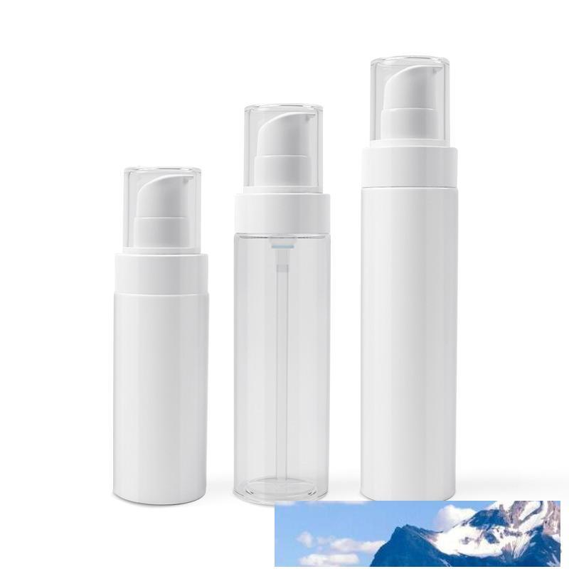 100ml 120ml Plastic PET Lotion Bottle Plastic Women Cosmetic Container Refillable Portable Makeup Packaging F872