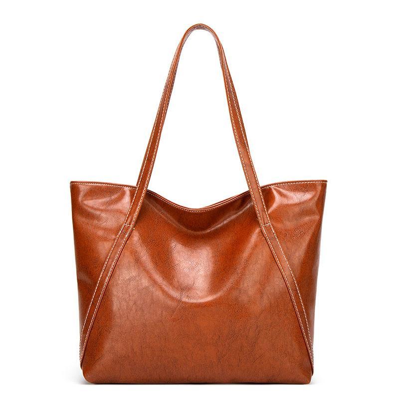 المرأة حقيبة يد جلدية رسول حقائب المتسوق كبير اليد يميل حقيبة الكتف السيدات حقيبة جلد ناعم حقيبة سعة كبيرة