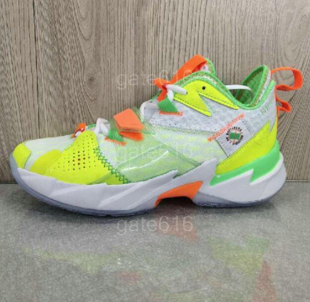Jumpman ¿Por qué no Zer0.3 zona de bienvenida Russell Westbrook Coral Heartbeat KB3 UNEN Negro Cemento Los zapatos de baloncesto de la familia a la venta 7-12 a32