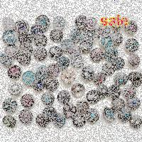 Wholesale-High quality Mix Many styles 50pcs/lot new fation 18mm Metal Snap Button Charm Rhinestone Styles Button Ginger Snaps Jewelry 8woV#