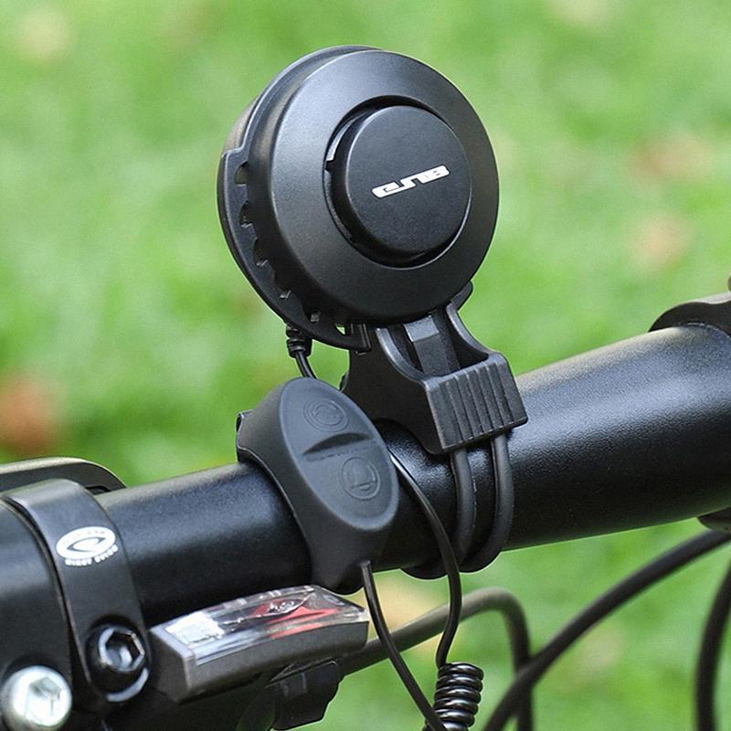 GUB Su geçirmez Ses Alarm Bisiklet Gidon Elektronik hornUSB Şarjlı MTB Yol Bisikleti Bell Güvenlik Alarm Binme Aksesuarları DYWi #