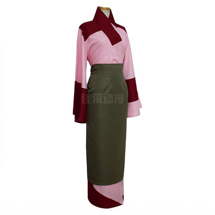 vmR8U Jiarong Kimono COS Cosplay Inuyasha Korallen Version Echt Schuss Jiarong Animation Kleidung Kimono COS Cosplay Animation Kleidung Inuyasha