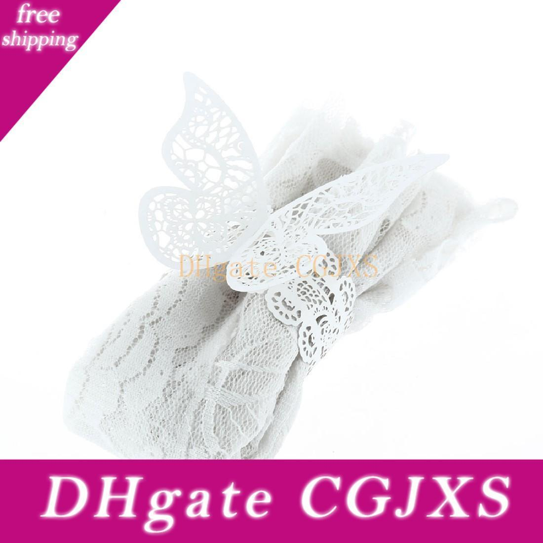 Wholesale New Pearlescent Paper Butterfly Napkin Ring Wedding Party Serviette Table Decoration Accessories Banquet Dinner Decor African Napkin Rings Agate Napkin Rings From Faone24 14 86 Dhgate Com