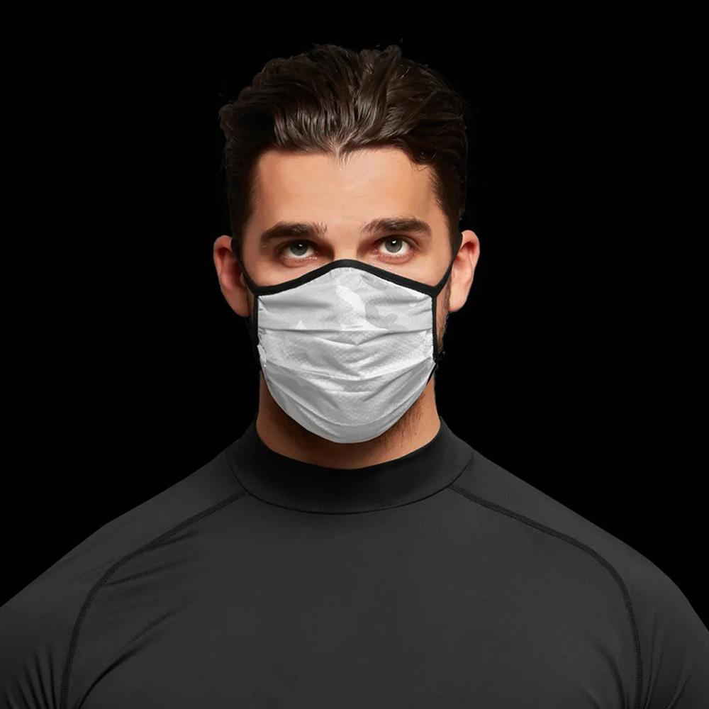 Camuflagem Máscara Facial Moda respirável à prova de poeira Máscaras lavável reutilizáveis Máscara Homens e mulheres Ciclismo Maske Atacado Reuseable Rosto