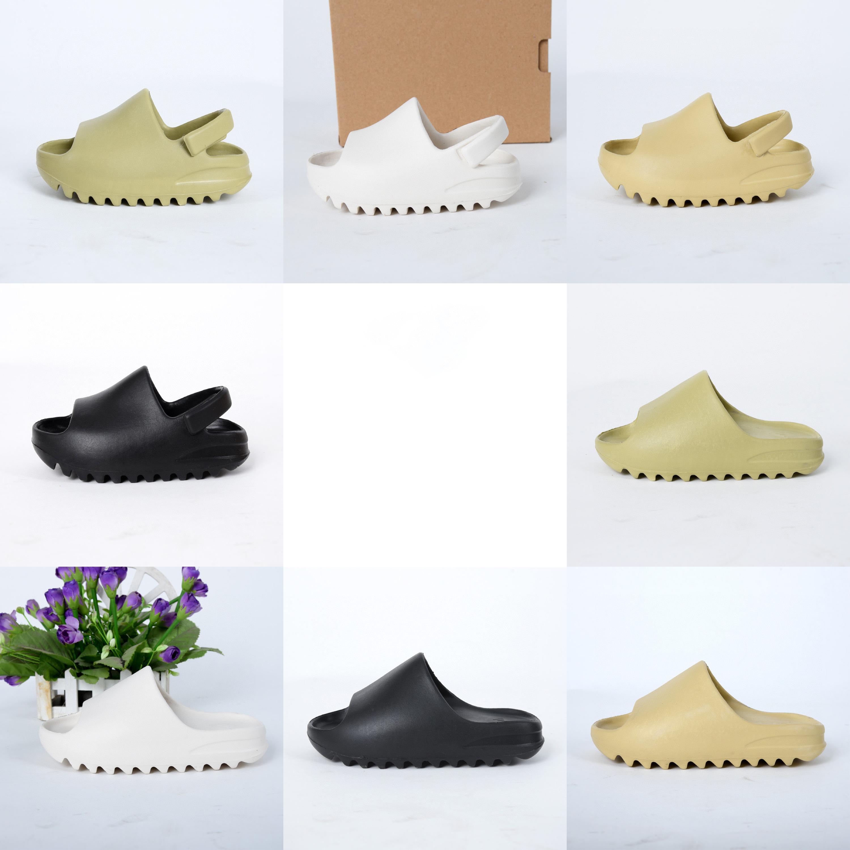 Kinder-Designer-Schuhe Slipper Summer Fashion Solid Color Jungen Mädchen Kinder Beach Street Arthefterzufuhren Eltern-Kind-Hausschuhe