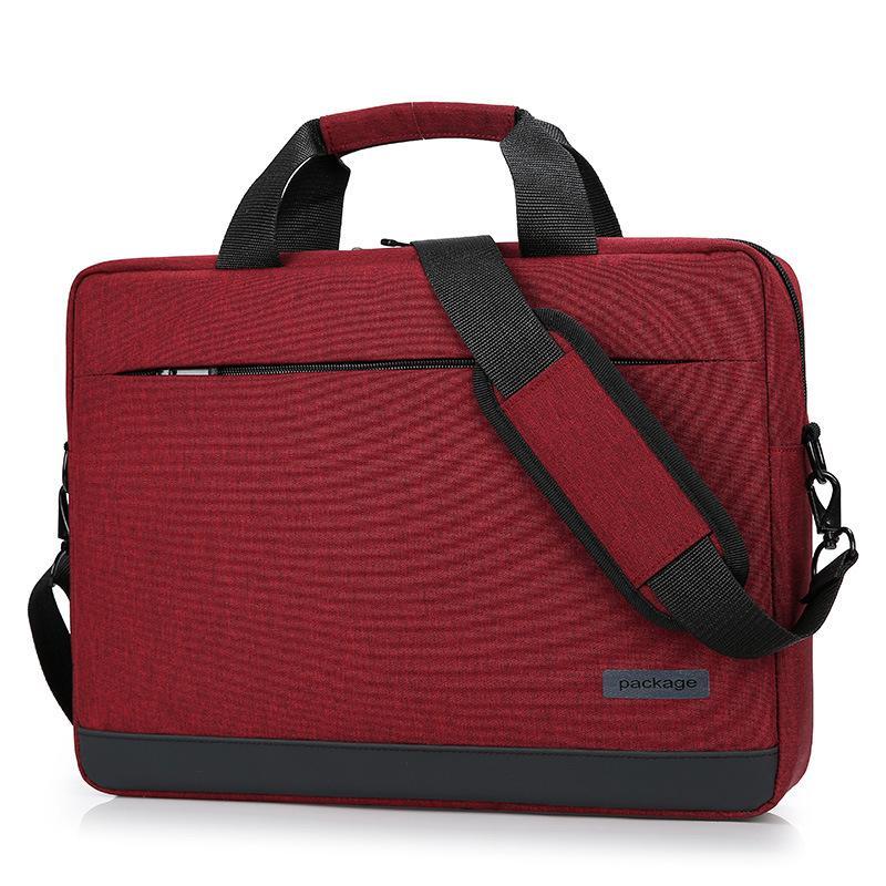 حقائب الكمبيوتر التجارية 14 15.6 بوصة حقيبة كمبيوتر محمول حقيبة حقيبة يد حقيبة Xiaomi Dell ASUS Lenovo HP Acer Macbook Air Handbags WJJ