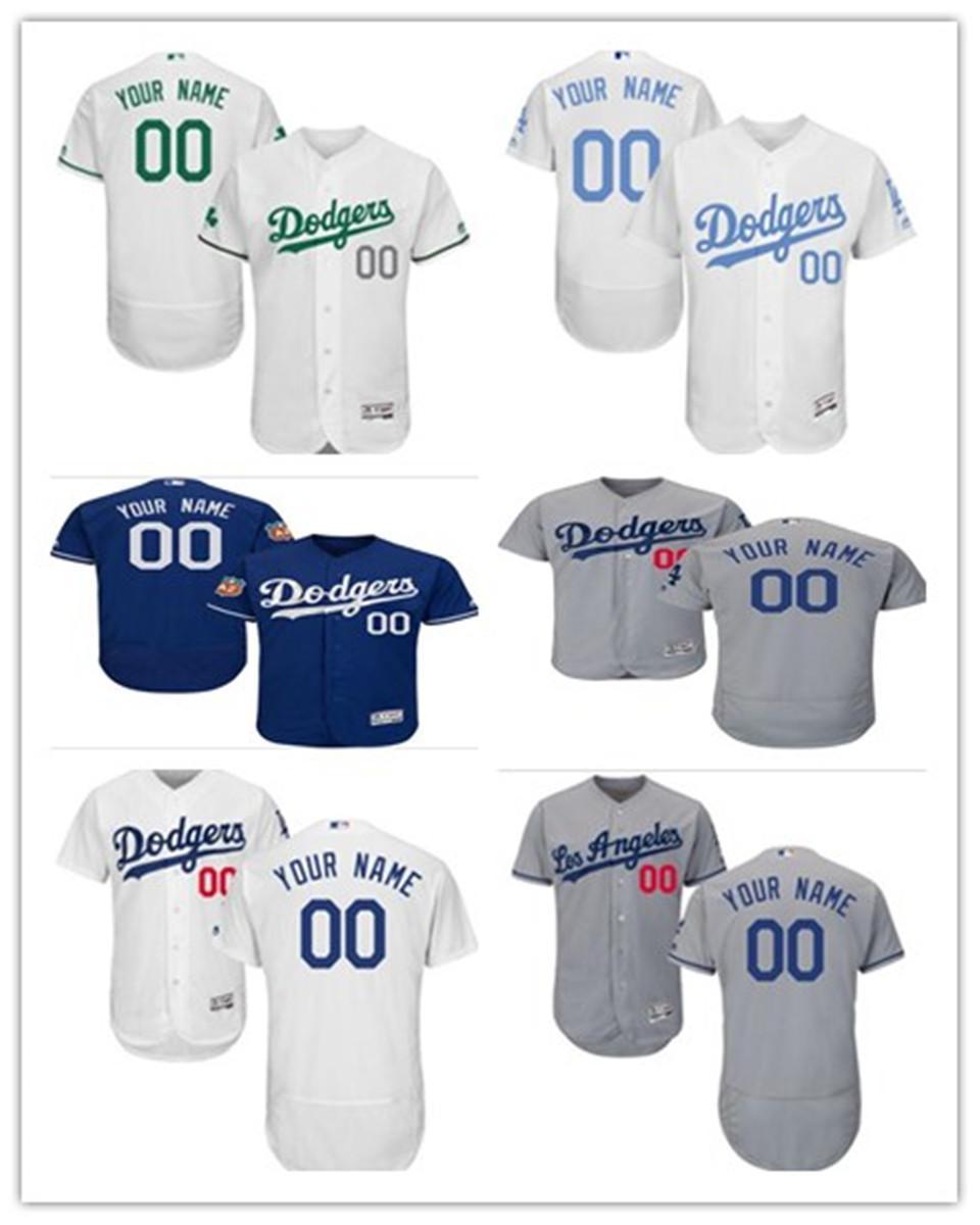 Gewohnheit alle mögliche Namen Nummer hochwertige T-Shirt, Los Angeles #Dodger Baseball Wear Männer Frauen Trikots Jugend frei shi