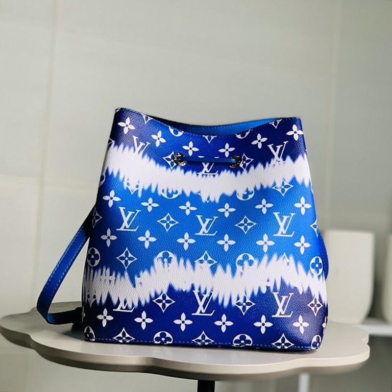 Nueva Riefsaw Womens cubo de cuero bolso de los bolsos de lazo del bolso de hombro Sac Bandouli ERE diseñador de lujo de las señoras de moda Cruzado Bolsas