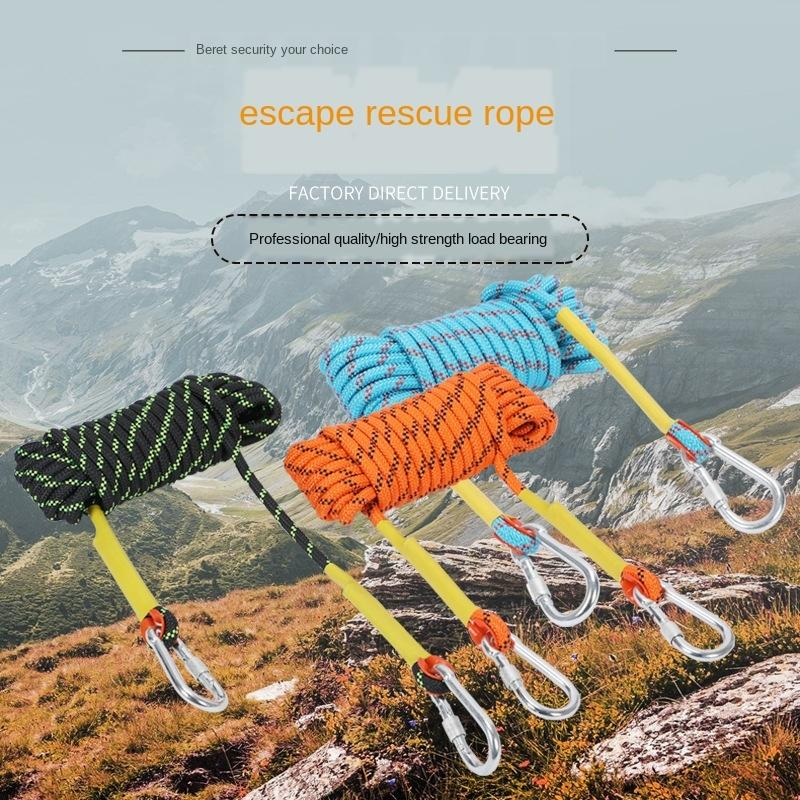 montañismo producción de escape de seguridad aérea de incendios trabajo cuerda de rescate escalada al aire libre cuerda de seguridad