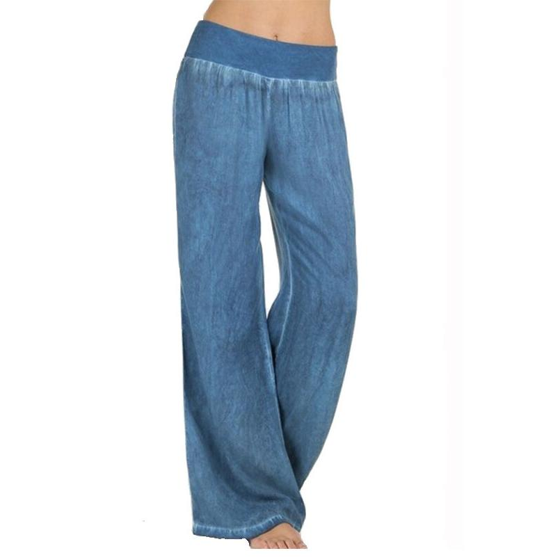 VICABO Women's Jeans Wide Leg Long Casual Pants for women clothing joggers trousers jeans woman calca jeans feminina CX200721