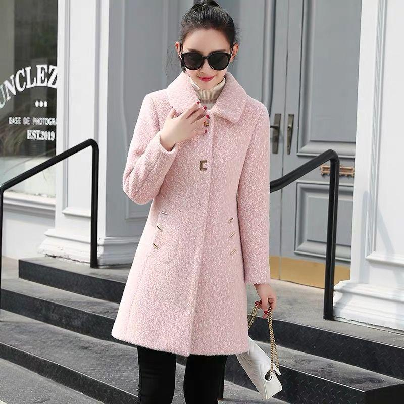 2020 Calantino Coat 2019 New Winter Fashion Korean Style Mid Length Western Style Slim Fit Imitation Gold Mink Coat Trend From Af270 199 8 Dhgate Com