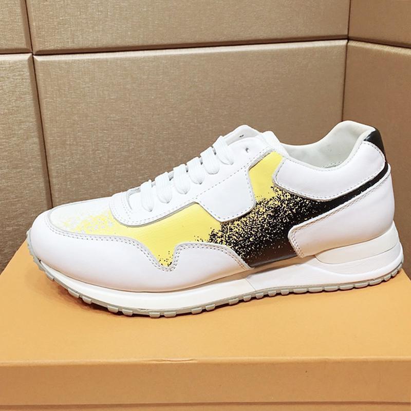 S Ayakkabı Yeni Geliş Moda Bez Ayakkabı Nefes Spor Ayakkabı Plus Size Düşük En Dantel -Up Erkekler Ayakkabı Zapatillas Hom; Sneaker Men 'Run Away