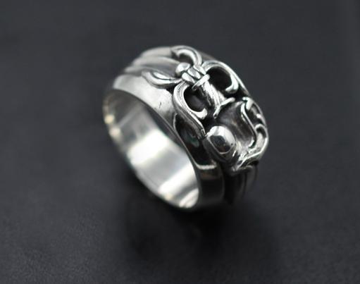 925 gümüş eğilim kişilik takı serseri tarzı mens yüzük ve Aşıklar hediye hip hop çapraz tarzı lüks tasarımcı takı 0026 womens