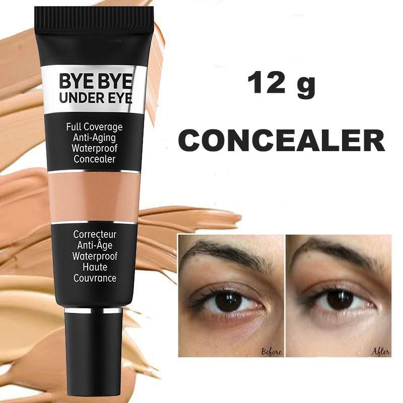 TOP! La nuova versione di qualità di trucco di marca occhio correttore bye bye sotto l'occhio piena copertura anti invecchiamento correttore impermeabile LIBERO DHL