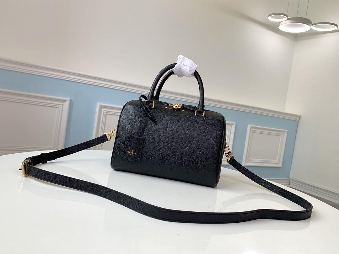 LOU1S VU1TTON M43501speedy donne del cuoio genuino della borsa a tracolla Messenger torsione tasche borsa Totes Shopping bags zaino chiave Portafogli