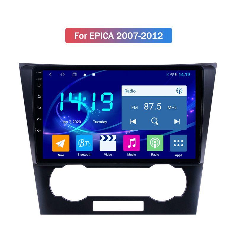 2020 Prezzo di fabbrica da 10 pollici 1024 * 600 dello schermo HD Android 9.0 2 Din Radio GPS BT5.0 lettore DVD per Chevrolet EPICA 2007-2012