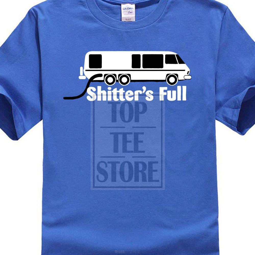 Soft Feel divertente maglietta prepotente stampa 3D Trend Abbigliamento Uomo maglietta Shitters completa Rv Campering Logo 014.929