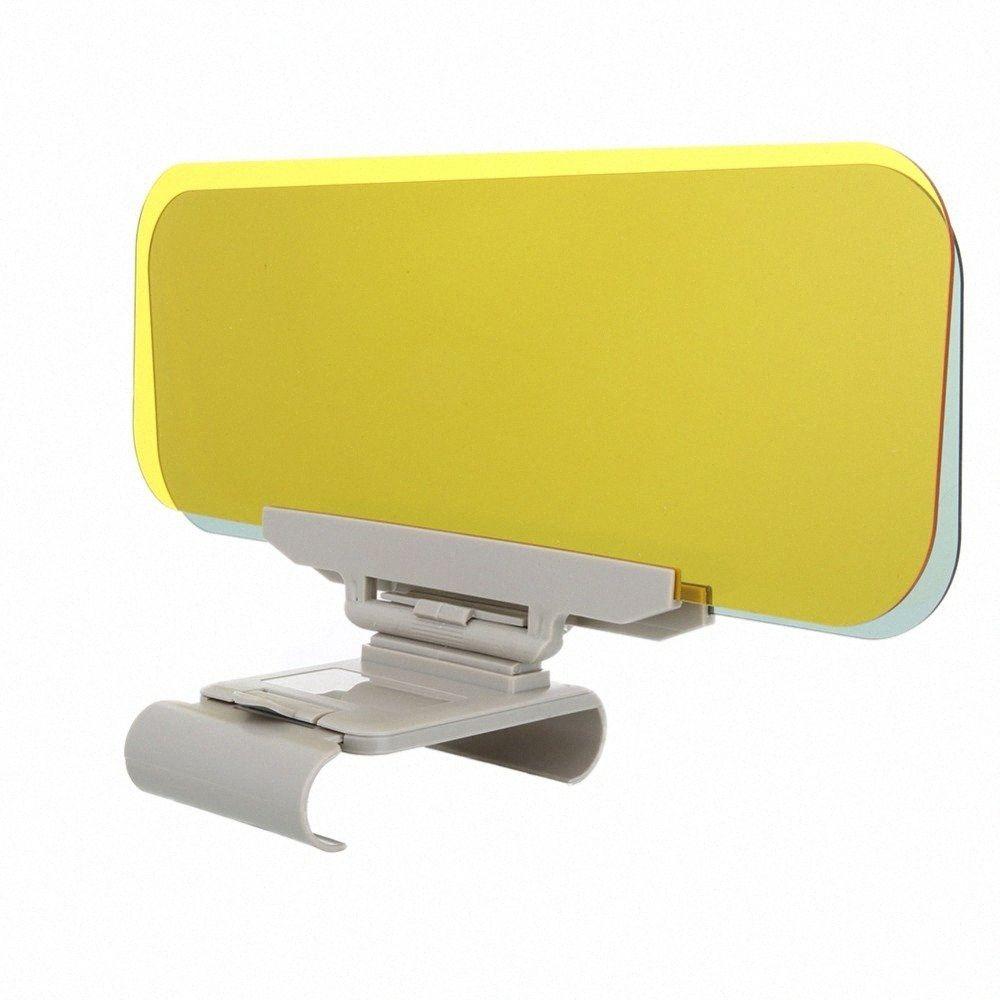 Voiture pare-soleil HD Anti Lumière du soleil éblouissant Goggle Jour de vision nocturne au volant Miroir UV Fold flip Clear View Car Styling CFhf #