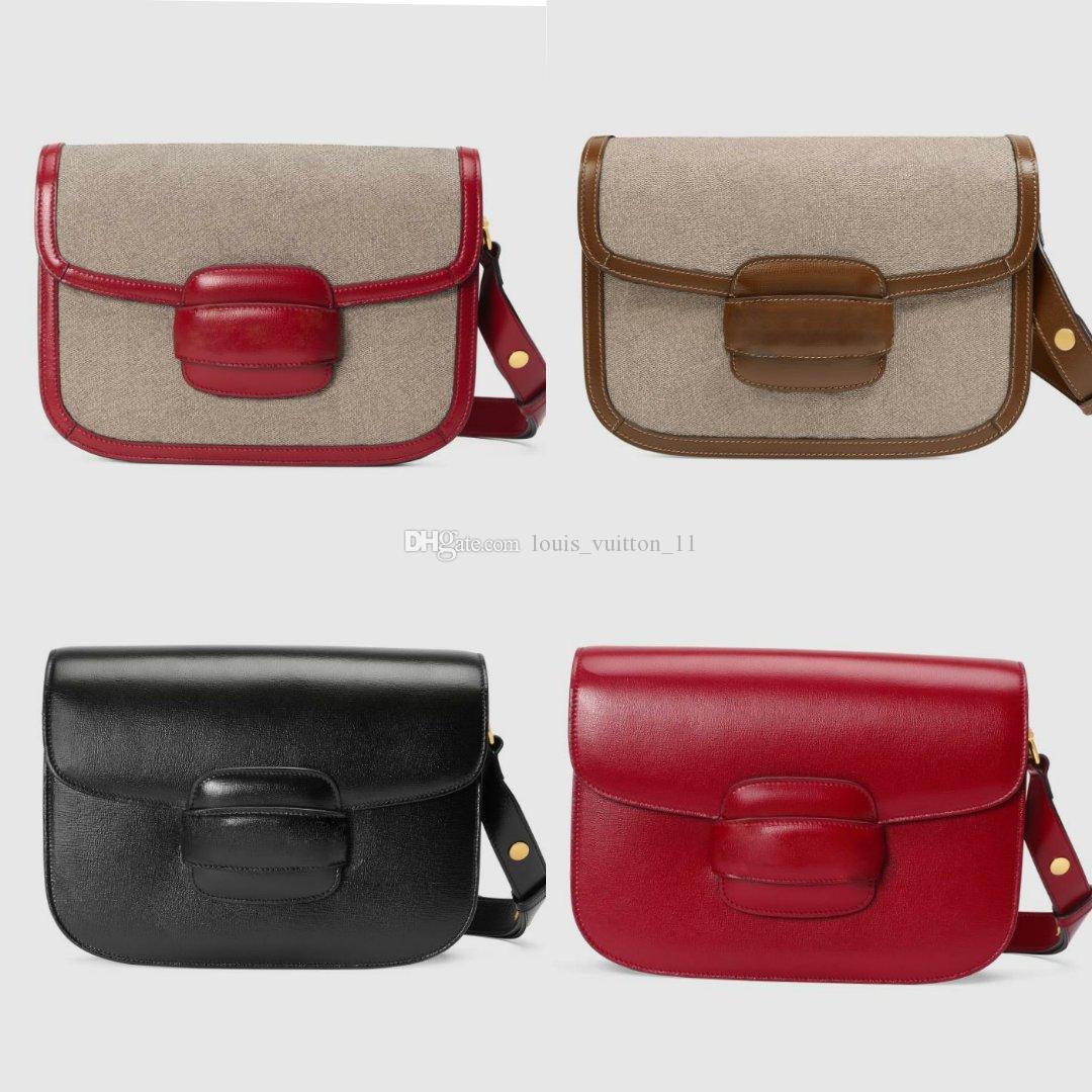 عالية الجودة المتشرد مصمم المتشرد حمل المرأة الماس حقائب الشهيرة سلسلة حقائب الكتف CROSSBODY سوهو حقيبة Horsebit 1955 كتف صغيرة حقيبة