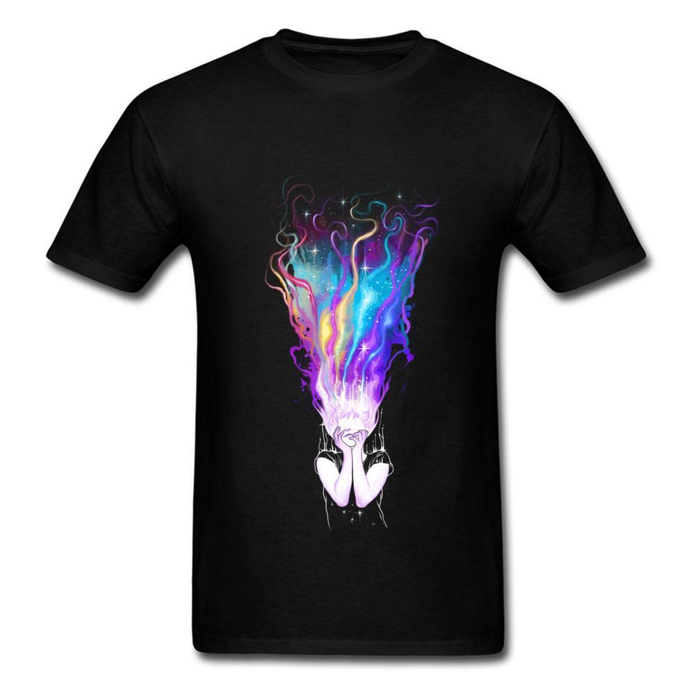Arcobaleno Ragazza T Shirt Uomini Top T-shirt donna Tshirt sogno cotone fredda unica di vendita calda Tee Abbigliamento regalo di San Valentino Day