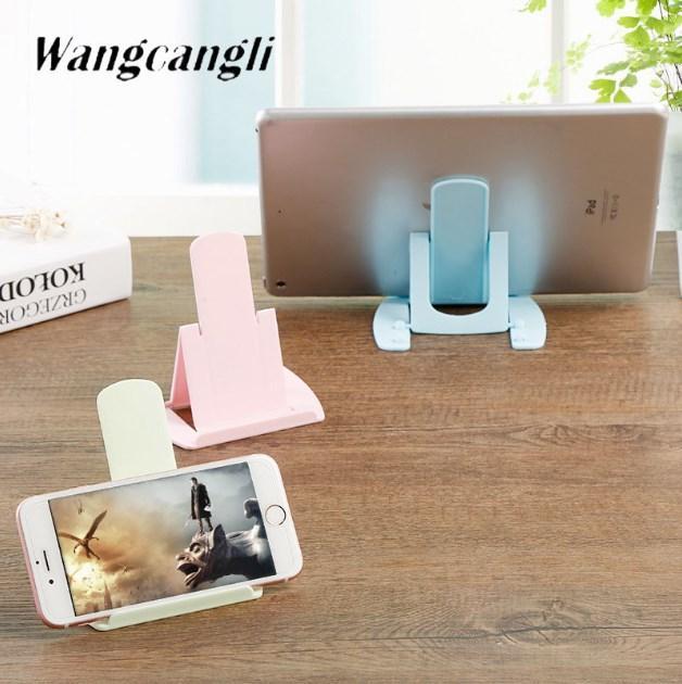 Multi-angle Régler téléphone portable tablette Support bureau Support Support universel pour Smartphone pliable Extension Suppor Support Mobil