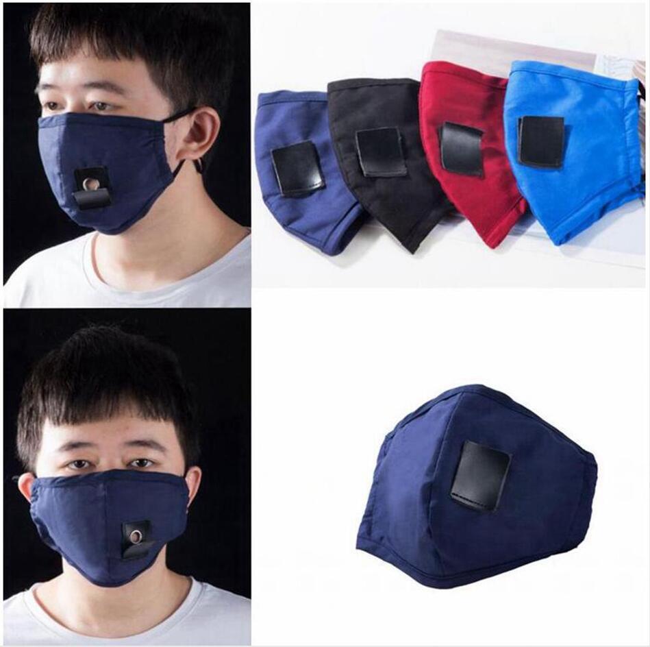Adulte paille Masques coton pur réglable visage bouche couverture trou de paille pour le vin Cocktails antipoussière potable de protection Masque facial LJJP200