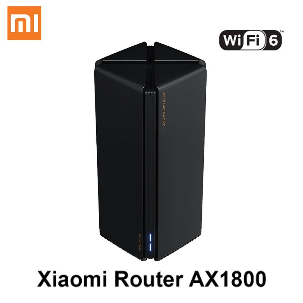 Nouveau routeur Xiaomi AX1800 Qualcomm 5 Core WIFII6 2,4G 5,0 GHz Gigabit Full Gigabit 5G à double fréquence Murale pénétrant roi pénétrant à la maison
