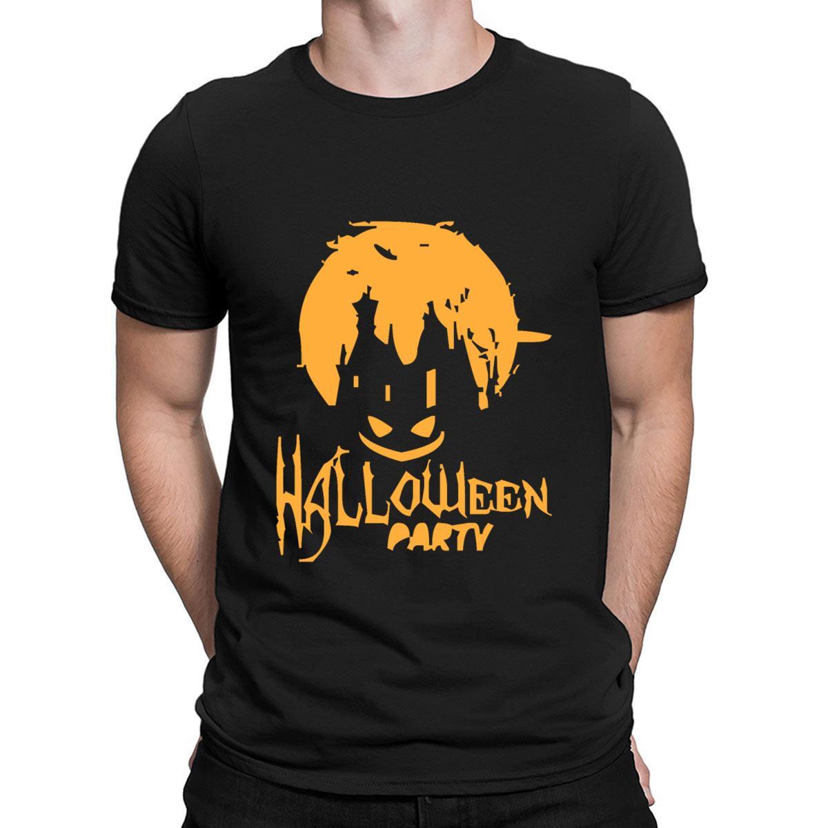 Halloween-Party-T-Shirt Sonnenlicht Gemütlich über Größe Charakter-T-Shirt