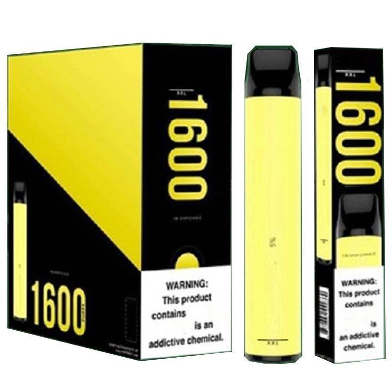 Puff XXL Cigarrillos Disponible Pen 1600 Puffs Pre-cobrado 600mAh 4ml