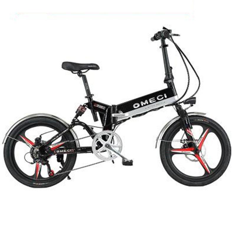 20 Zoll Folding Elektro-Fahrrad 2 Räder Elektrofahrräder Speichen-Rad Mini leichte Elektroräder Erwachsene 350W 48V 35KM / H