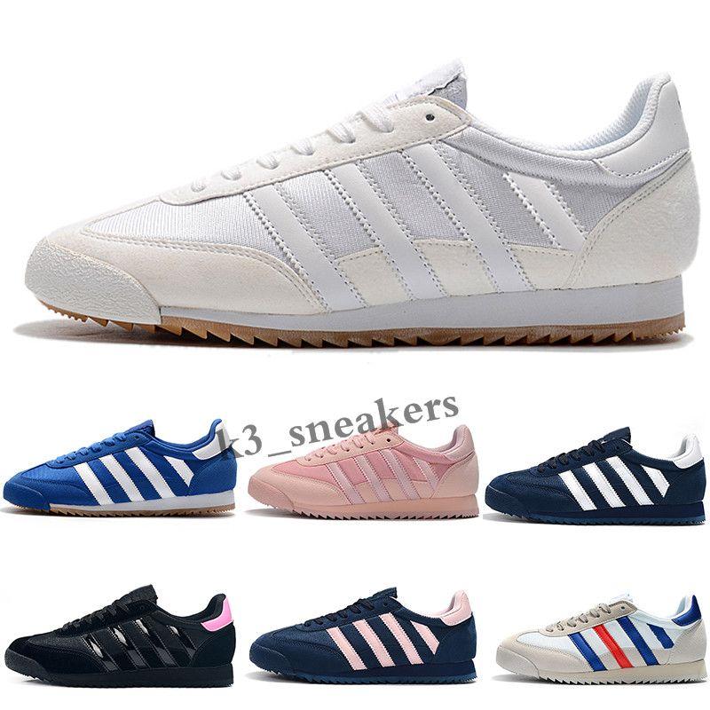 Adidas Originals Dragon 2018 drago originale bianche iridescenti superstar minori anni 80 orgogliosi sneakers super star degli uomini delle donne le scarpe da tennis di sport MS04