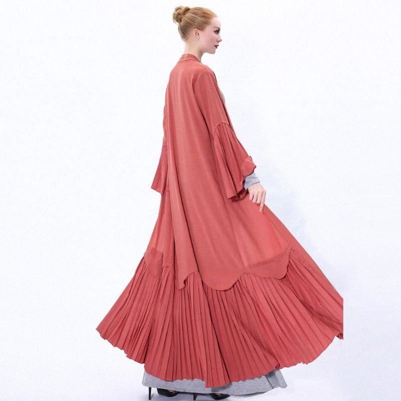 Ramadan Eid Mubarak Kimono Cardigan Abaya Dubai Hijab muslimischen Kleid Kaftan Kaftan Islam Kleidung Türkisch Abayas für Frauen Robe PISN #