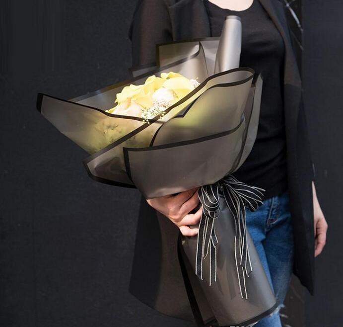NOVO Gift Wrap 20 Sheets / lot Flor Embalagens Papel Handmade material de embalagem de papel Bouquet Florist Suprimentos festival papel de envolvimento do presente