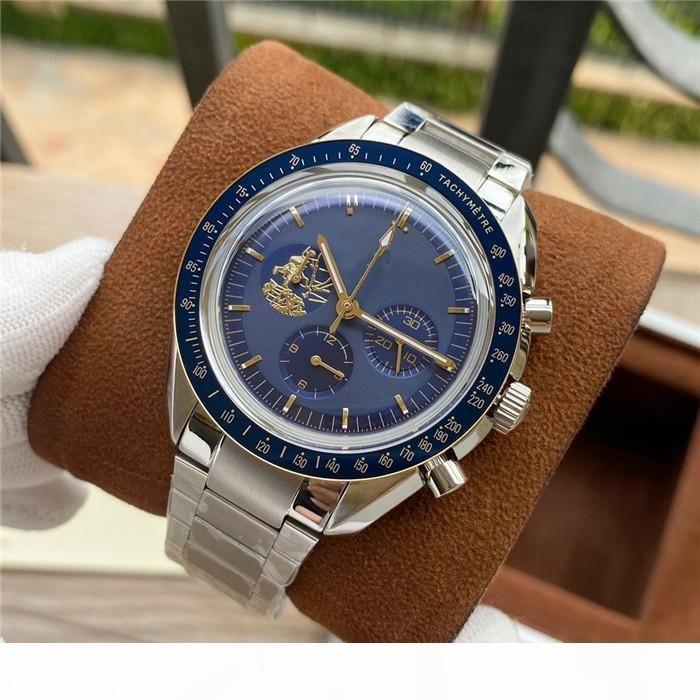 H Criminal Watch Super Timing Code Fine Steel Case 42mm In Diameter Men &#039 ;S Mechanical Multi -Function Limited Designer Watch