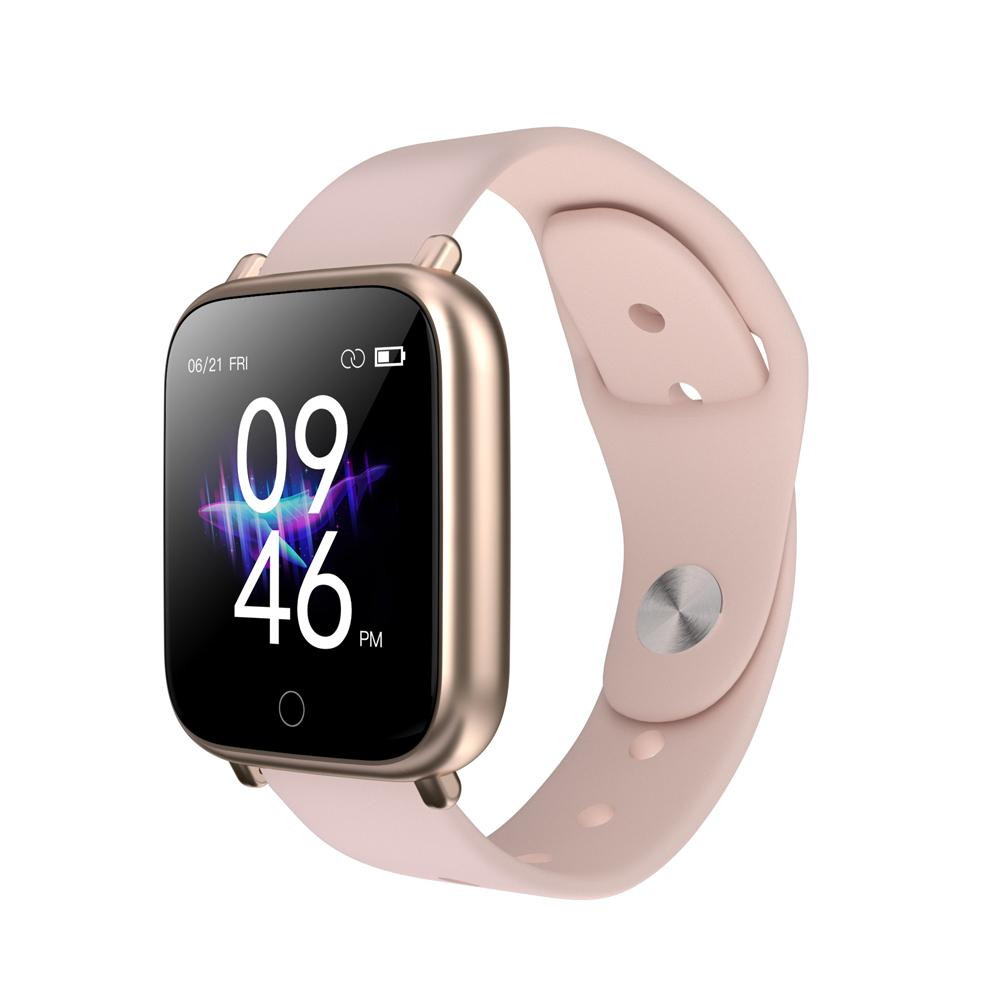 Q1 intelligente orologi sportivi impermeabile per Iphone Telefono Smartwatch cardiofrequenzimetro del sangue Funzioni di pressione per le donne gli uomini Kid